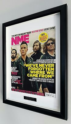 The Killers-Framed Original NME-Plaque-Certificate-RARE-Own A Piece Of HISTORY • 39.99£