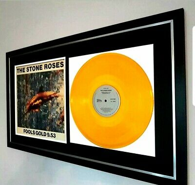 The Stone Roses Original 12 In Single 'Fools Gold' In GOLD VINYL-VERY RARE!! • 175£