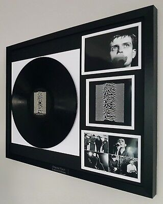 Joy Division Framed Original Record-VINYL Unknown Pleasures Ian Curtis New Order • 84.99£