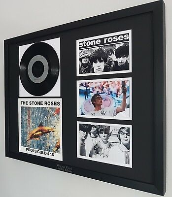 The Stone Roses Original Framed Rare Fools Gold Vinyl Ian Brown Oasis  • 79.99£