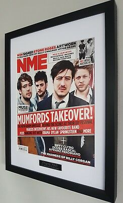Mumford And Sons Framed Original NME Plaque Certificate • 36.99£