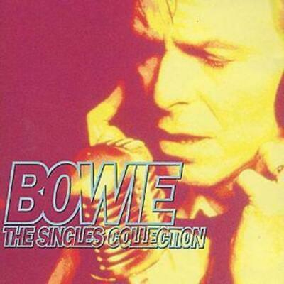 David Bowie : The Singles Collection CD 2 Discs (1993) FREE Shipping, Save £s • 2.95£