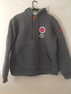 Red Hot Chili Peppers Tour Staff Hoodie Size Men's L Pristine Condition Grey • 124.13£