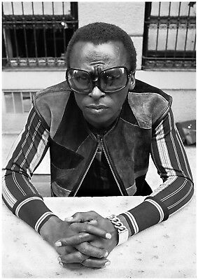 Reproduction  Miles Davis  Poster, Jazz, Wall Art, Vintage Print • 13.50£