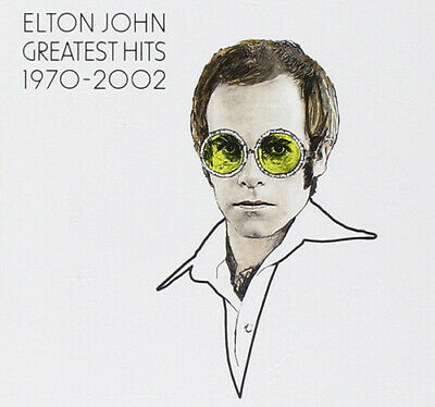 Elton John : Greatest Hits 1970-2002 CD 2 Discs (2002) FREE Shipping, Save £s • 3£
