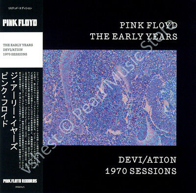 Pink Floyd The Early Years: Devi/ation 1970 Sessions Cd Mini Lp Obi • 9.99£