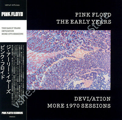 Pink Floyd The Early Years: Devi/ation More 1970 Sessions Cd Mini Lp Obi • 9.99£