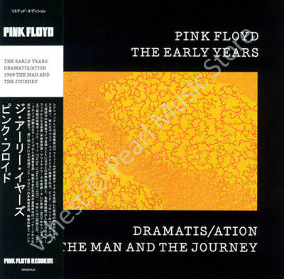 Pink Floyd The Early Years: Dramatis/ation 1969 Man And Journey Cd Mini Lp Obi • 9.99£