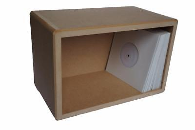 7  / 45's Vinyl Storage Cube LP Record Box Cabinet Case Unit • 23.49£