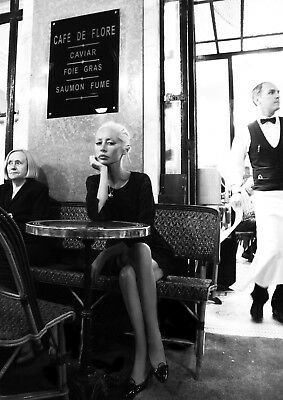 Reproduction  Wendy James - Cafe De Flore , Transvision Vamp, Indie, Wall Art • 13.50£