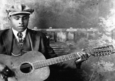 Reproduction  Blind Willie McTell  Poster, Blues, Wall Art, Vintage Print • 13.50£