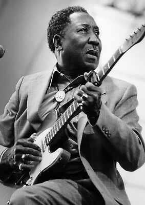 Reproduction  Muddy Waters  Poster, Blues, Wall Art, Vintage Print • 12£