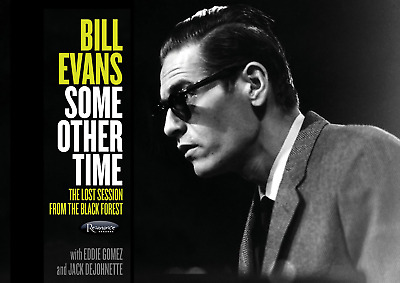Reproduction  Bill Evans - Some Other Time  Poster, Jazz, Vintage Print • 12£