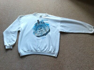 1 Of 1000 Dire Straits BiA Sweater. L-XL. Excellent. Fleece Lined. VERY RARE! • 500£
