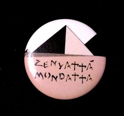 The Police Original 1980 Zenyatta Mondatta World Tour Album Pin / Button / Sting • 22.22£