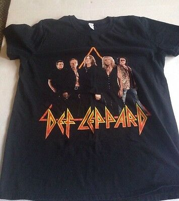2011 Def Leppard Tour Concert Shirt Size Medium EX • 14.16£