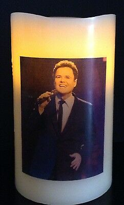 Donny Osmond Flameless Electronic Flickering Candle • 9.99£