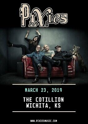 Reproduction Pixies Poster,  The Cotillion , Indie, Home Wall Art • 12£