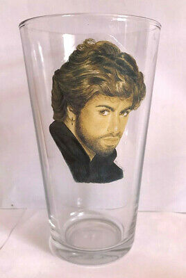George Michael Pint Size Beer Glass  • 9.50£