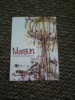 Mansun A6 Promo Postcard EP7 - Closed For Business • 3.50£