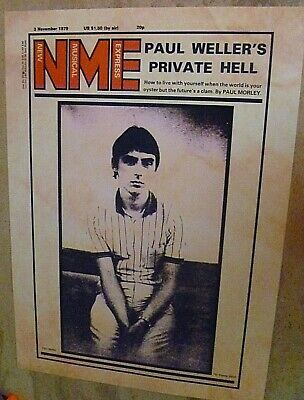 The Jam  Uniquely Designed Paul Weller Nme Cover Poster  • 15£