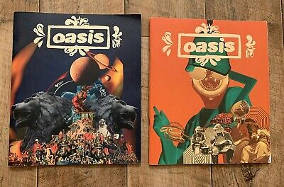 X2 Oasis (UK) World Tour 2008/09 UK PROGRAMMES Brit Pop • 31.99£