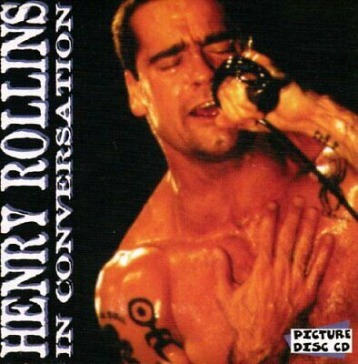 Henry Rollins - In Conversation - Henry Rollins CD KYVG The Cheap Fast Free Post • 200£