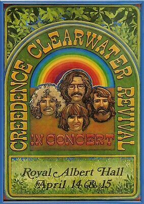 Reproduction  Creedence Clearwater Revival  Poster, Home Wall Art • 12£