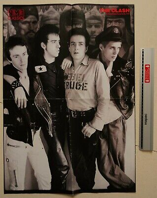 The Clash / Morrissey, Original NME Double Sided Poster (Strummer, The Smiths) • 6.99£