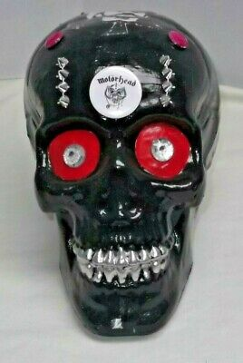 MOTORHEAD..LEMMY.HEAVY ROCK...., HAND PAINTED Skull. Display • 9.99£
