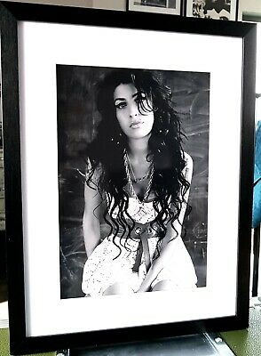 Amy Winehouse-Luxury Box Framed-Incredible QUALITY-Certificate/Back To Black  • 28.99£