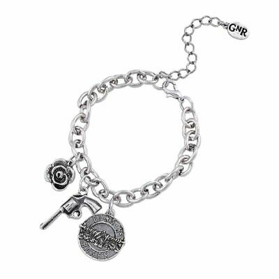 Guns N' Roses Triple Charm Bracelet - Rock Music Jewellery Collectors • 15.95£