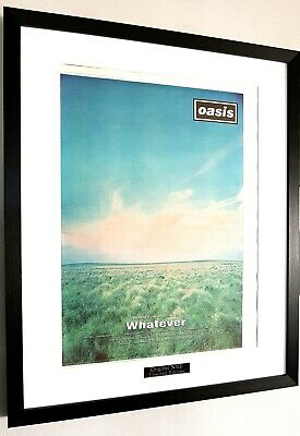 OASIS Framed Original NME/Liam Gallagher/1994/Whatever/Definitely Maybe • 64.99£
