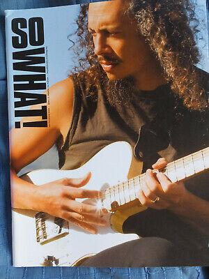 So What! Metallica Fanclub Magazine Vol 15 Number 2 2008 MINT • 5.99£