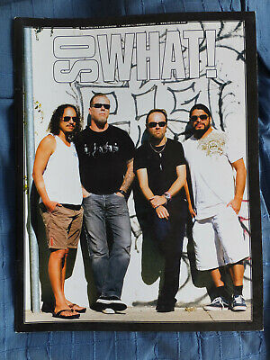 So What! Metallica Fanclub Magazine Vol 14 Number 4 2007 MINT • 5.99£