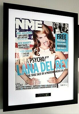 Lana Del Rey Framed Original NME Cover-Certificate-Norman Rockwell  • 43.99£