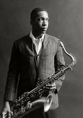 Reproduction  John Coltrane  Poster, Jazz, Wall Art, Vintage Print • 12£