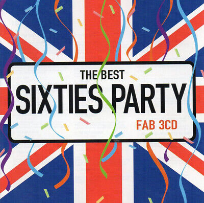 Various Artists : The Best Sixties Party CD 3 Discs (2004) Fast And FREE P & P • 2.59£