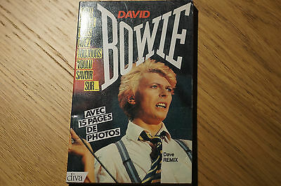 David Bowie Book In French Language 15 Pages Photos Suit Collector  • 32.92£