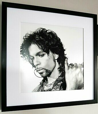 Prince-Luxury Framed Print-NEW-RARE-Purple Rain/Incredible QUALITY-Large • 39.99£