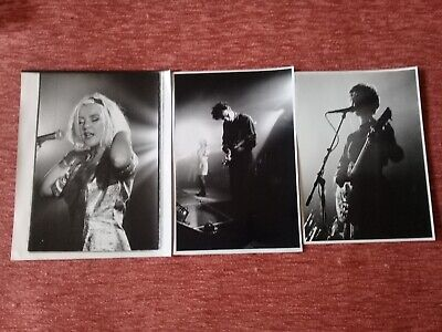 Original 10x8 Publicity Photos Of The Band The Darling Buds From 1989 • 9£