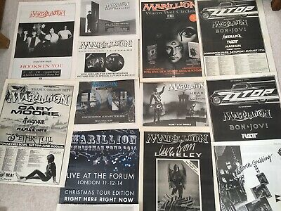 Marillion - Music Posters - Large Music Press Posters Collection.  • 14.99£