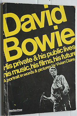 David Bowie Private And Public Lives Paperback Vivian Clare Original Early • 23.43£
