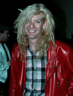 Def Leppard - Steve Clark 1988 Candid Off-stage Photo Pittsburgh • 11.17£