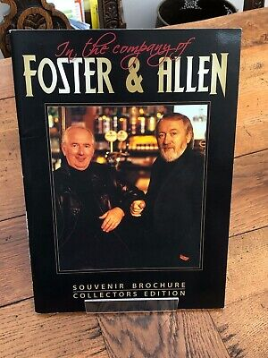 In The Company Of Foster & Allen . Souvenir Brochure With Signitures  • 19.99£