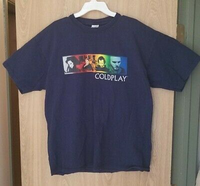 Coldplay 2005 Twisted Logic Crew Shirt XL • 16.51£