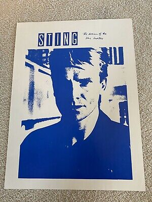 Sting Dream Of The Blue Turtles Poster • 21.46£