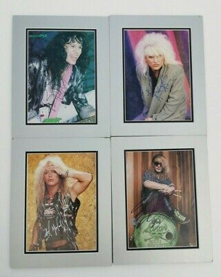 Poison Rock Band Signed Autograph,Michaels, Rocket, Dall, CC Deville • 175£