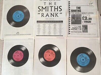 The Smiths & Morrissey Posters X 6 , Plus Music Magazines & Articles. • 12.99£