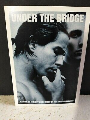Red Hot Chili Peppers Sticker Under The Bridge Anthony Kiedis RHCP • 11.11£
